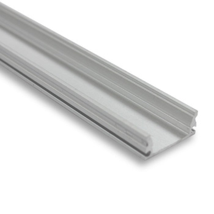 Aluminium Profile For LED Strip Lighting - 2m Length