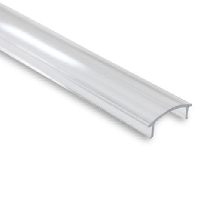 Clear Profile Cover For Aluminium Profile - 2m Length