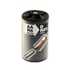 Uniross D Size Battery Converters Pack of 2 (AA to D)