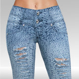 Jeans MJ-1818 Stone Destruccion Skinny