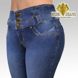Jeans MJ-3254 Medio Recto