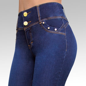 Jeans YEA-5126 Rinse Skinny
