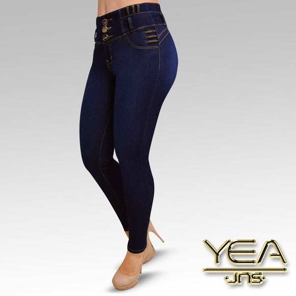 Jeans YEA-5138 Rinse Skinny