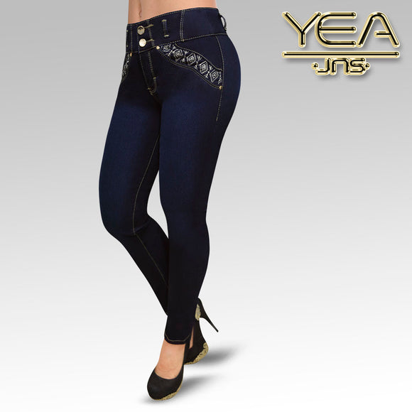 Jeans YEA-5143 Rinse Skinny