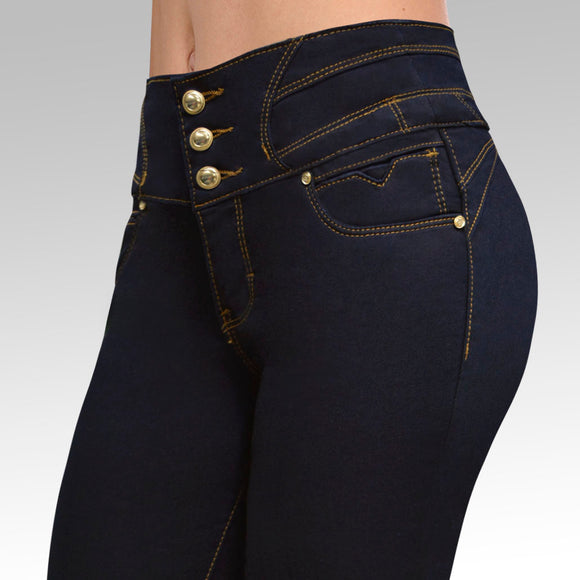 Jeans YEA-5151 Rinse Skinny