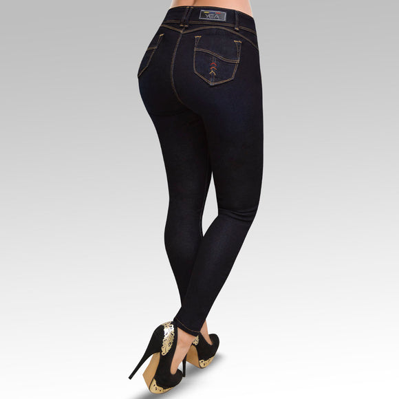 Jeans YEA-5152 Rinse Skinny