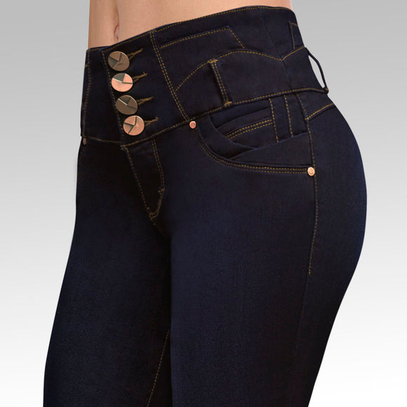 Jeans YEA-5154 Rinse Skinny