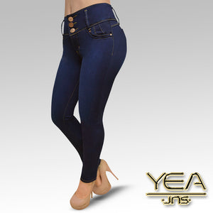 Jeans YEA-5163 Rinse Skinny