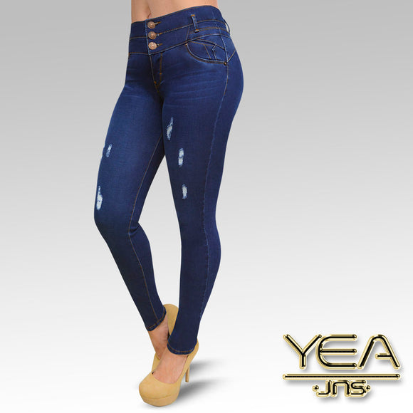 Jeans YEA-5165 Rinse Skinny