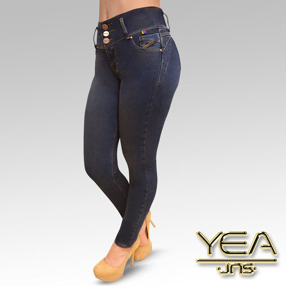 Jeans YEA-5179 Dirty Skinny