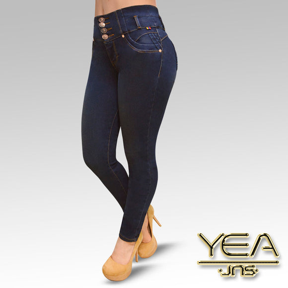 Jeans YEA-5181 Dirty Skinny