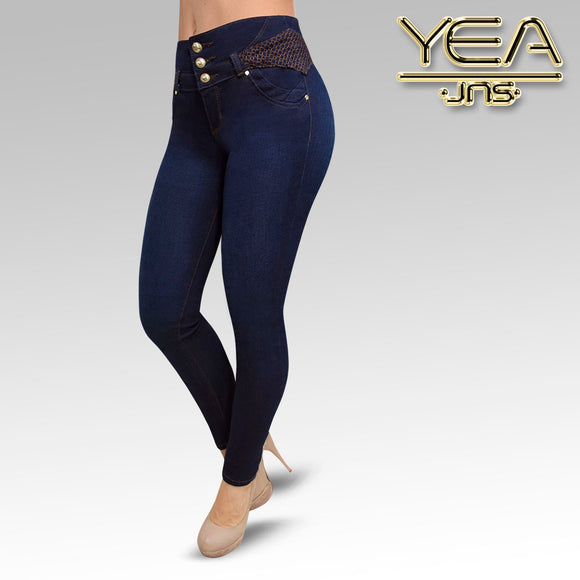 Jeans YEA-5134 Rinse Skinny