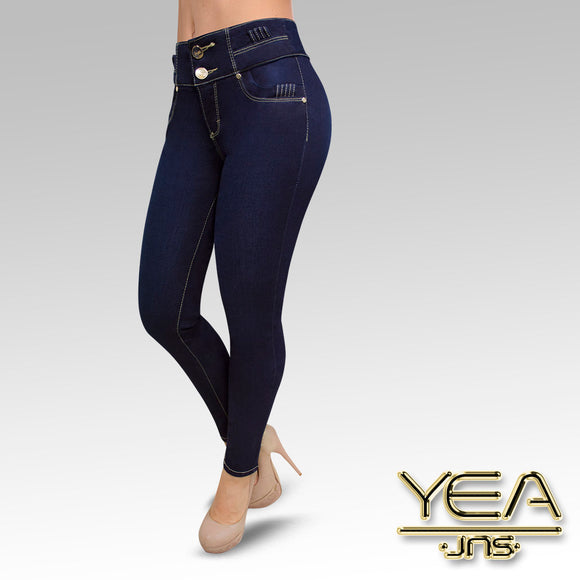 Jeans YEA-5137 Rinse Skinny