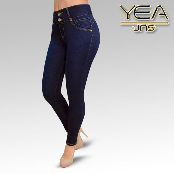 Jeans YEA-5141 Rinse Skinny