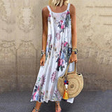 Summer Floral Vintage Shift Dresses