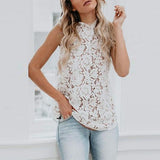 Summer Round Neck Sexy Vests