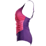 Gradient Rainbow Colors Plus Size Swimwear
