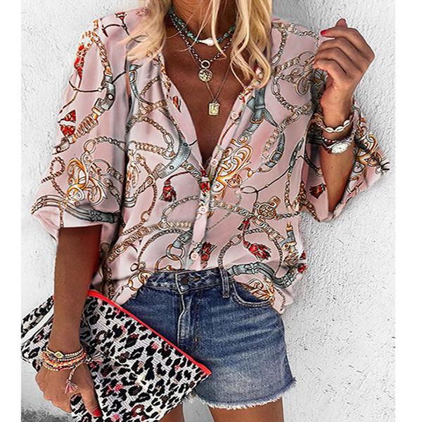 Daily Fashion Printed Women Blouse