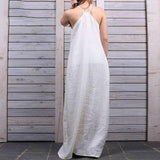 Sleeveless Summer Party Slip Dress