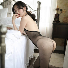 Load image into Gallery viewer, 女式挂脖裸背性感开裆连体衣