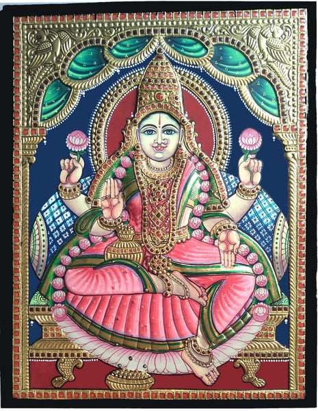 Lakshmi Antique Finish Tanjore Painting