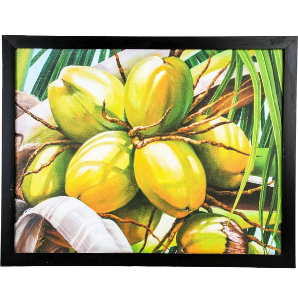 Mangala Arts Coconut Wall Decor Canvas Oil Painting