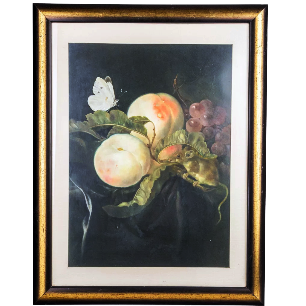Mangala Arts Fruits Wall Decor Canvas Oil Painting