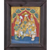 "Mangala Art Ramar Pattabhishekam Indian Traditional Tamil Nadu Culture Tanjore Painting - 32x27cms (12.5""x10.5"")"