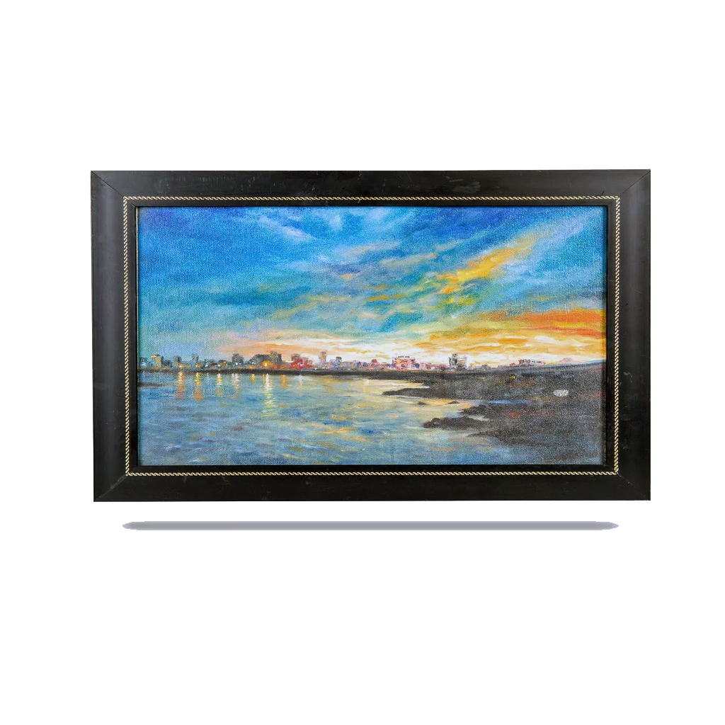 Mangala Arts Scenery Canvas Oil Painting