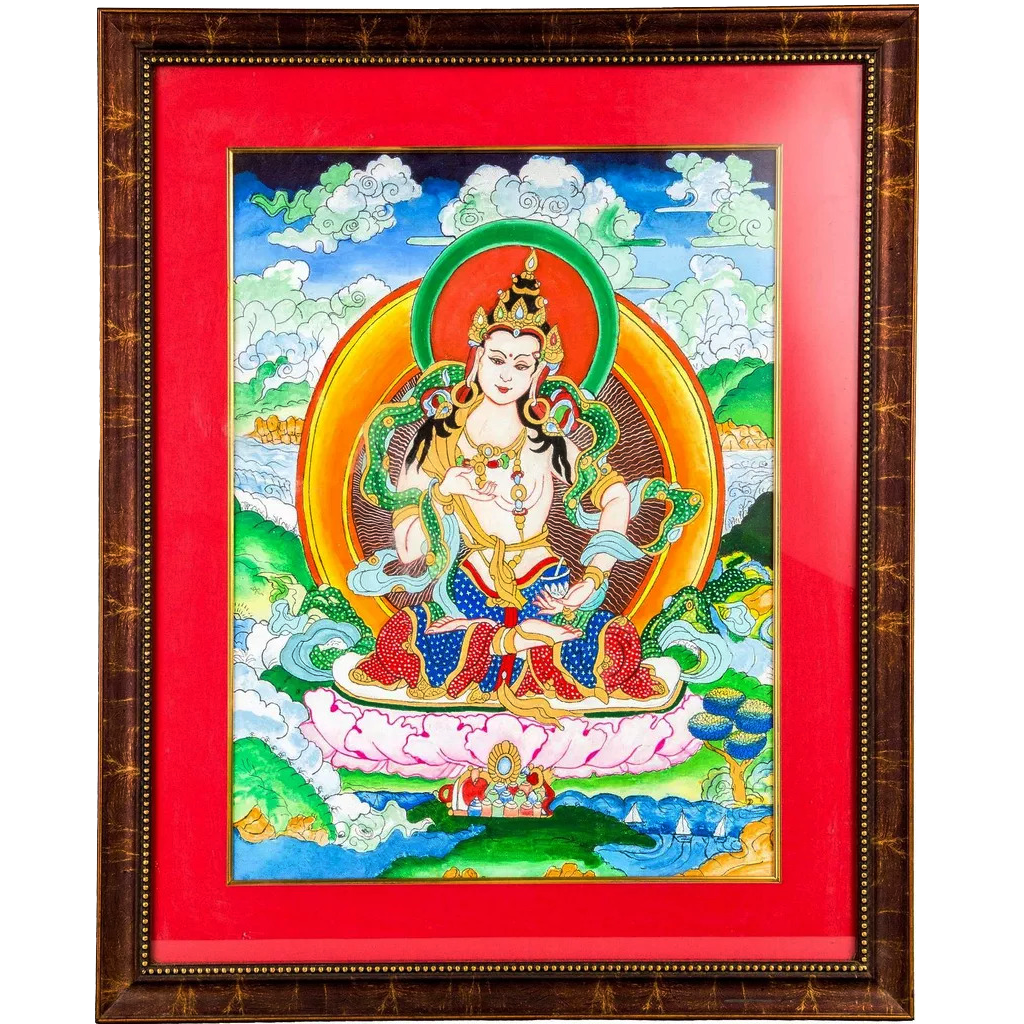 Mangala Arts Sivan Wall Decor Canvas Oil Painting
