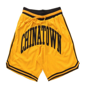 Chinatown Market Smiley Basket Ball Shorts