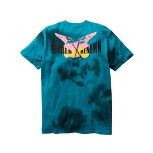 Staple Posterized Box Tee's Teal Blue