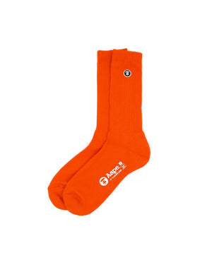 AAPE Logo Ribbed Sock