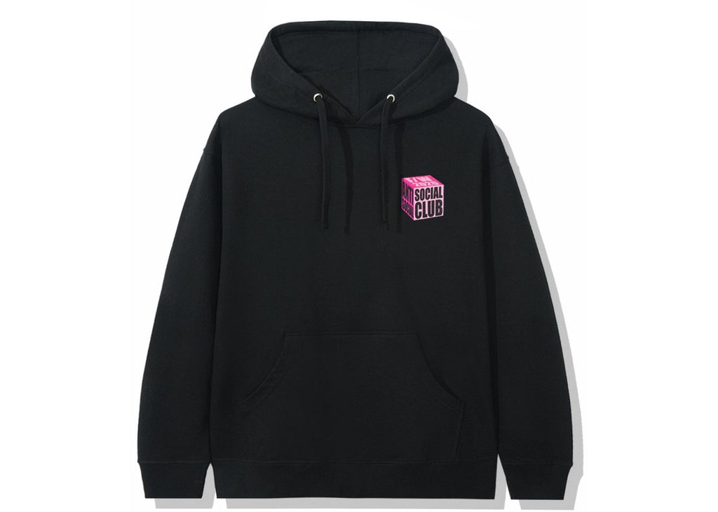 Anti Social Social Club I Wish I Was Wrong Hoodie Black