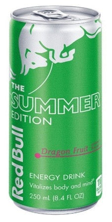 Red Bull Summer Edition Dragon Fruit Energy Drink 12 Fl.oz
