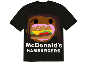 Travis Scott x CPFM 4 CJ Burger Mouth T-Shirt