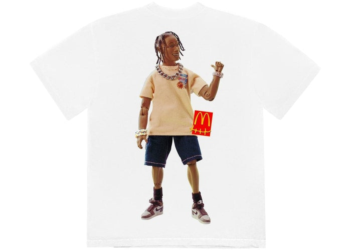 Travis Scott x McDonald's Action Figure Series T-Shirt