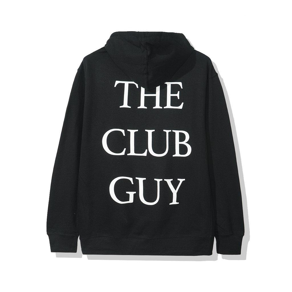 Anti Social Social Club The Club Guy Hoodie Black