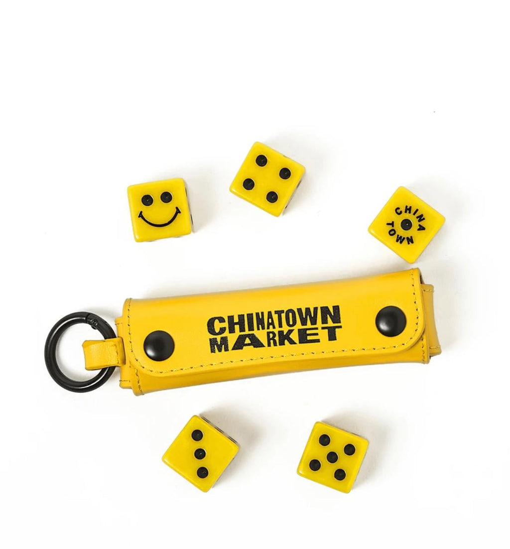Chinatown Market Smiley Dice 5 Set (With Case)