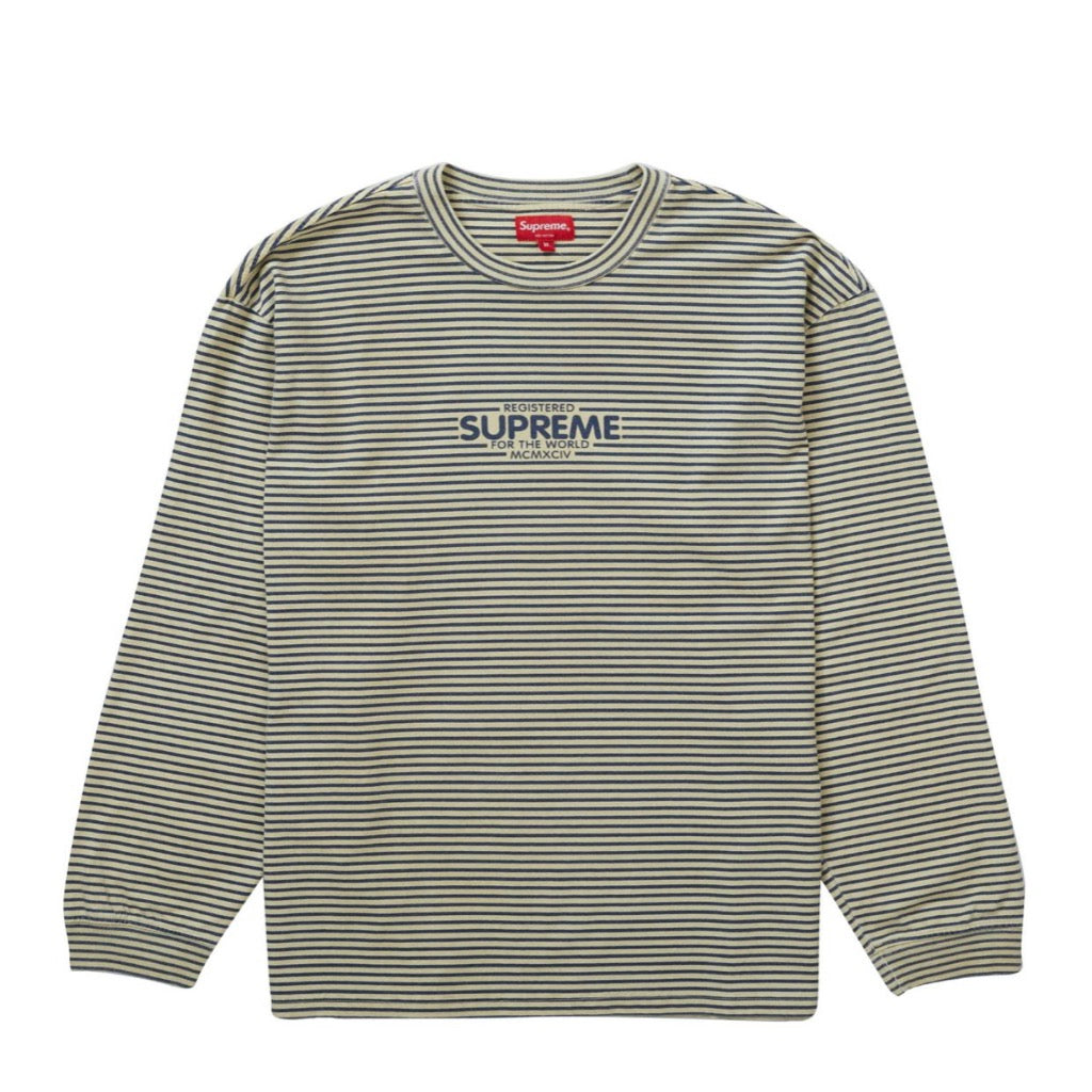 Supreme Micro Stripe L/S Top