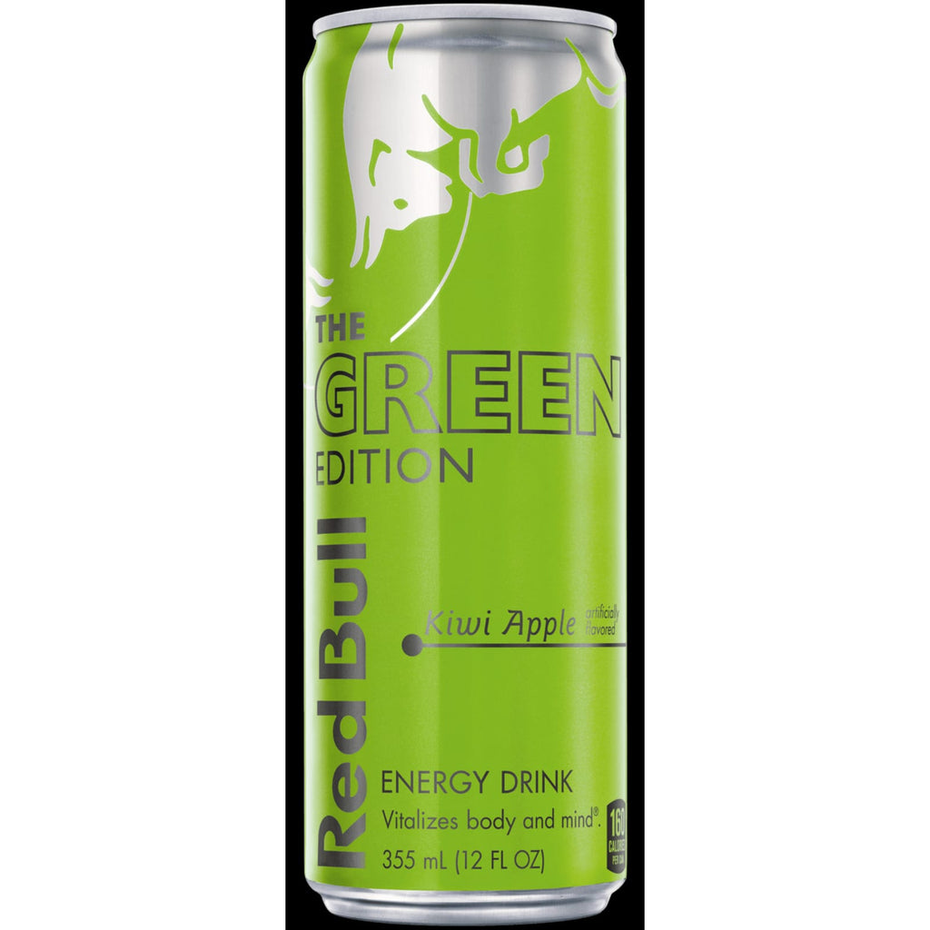 Red Bull Green Edition, Kiwi Apple Flavour
