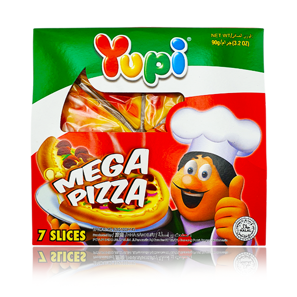 Yupi  Mega Pizza Shaped. 90g - Bunka