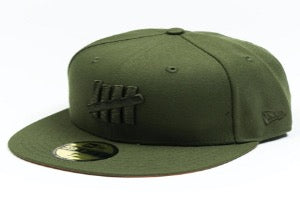 Undefeated Fitted Cap - Olive