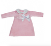 Pink Pom Pom Knitted Set Piece - Kady