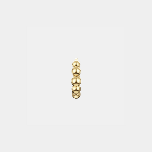 Marina - 18k Gold Diamond-Created Stud