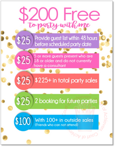$200 Free to Party With Me