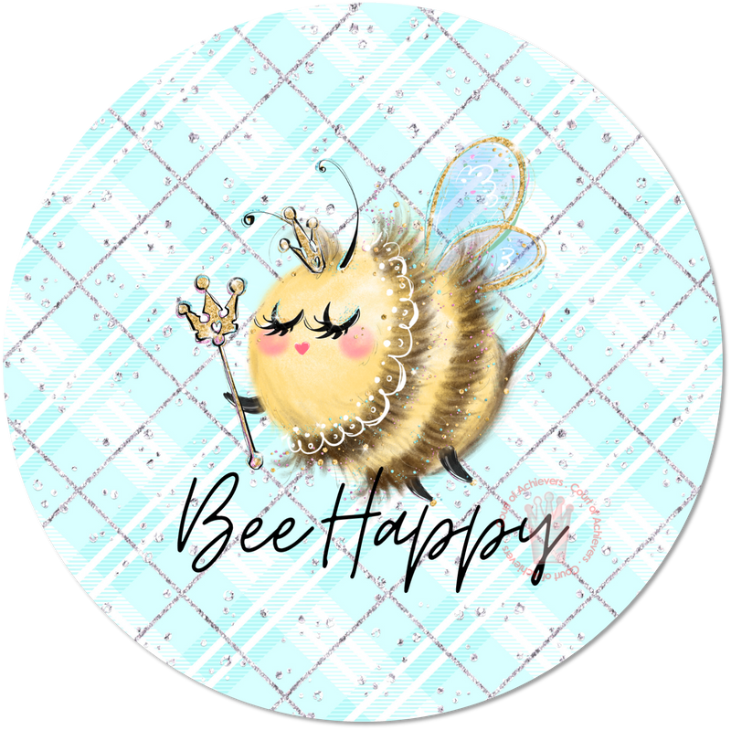Bee Happy Sticker