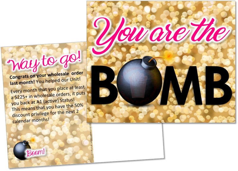 You are BOMB!