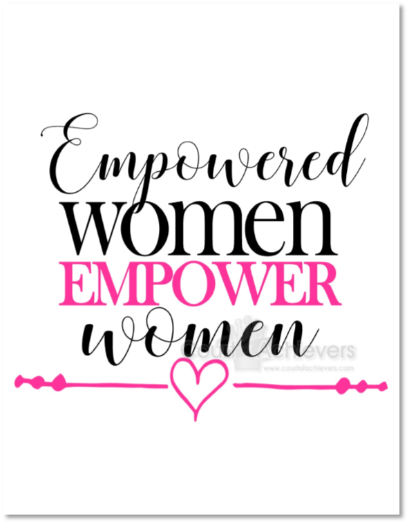 Empower Women Postcard