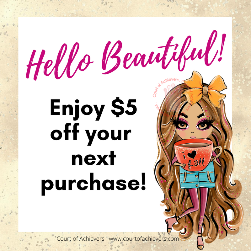 Fall for $5 off! Chat Card